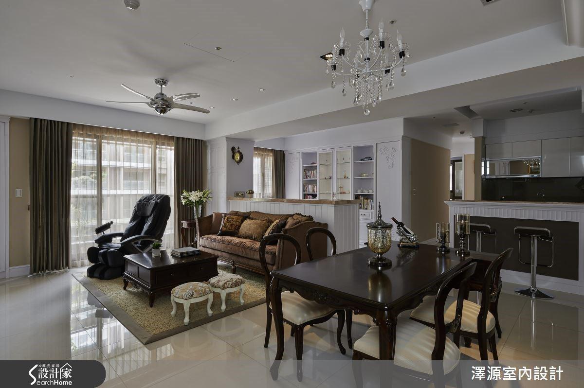 從客變開始,打造綠建材大地系新古典風安心宅