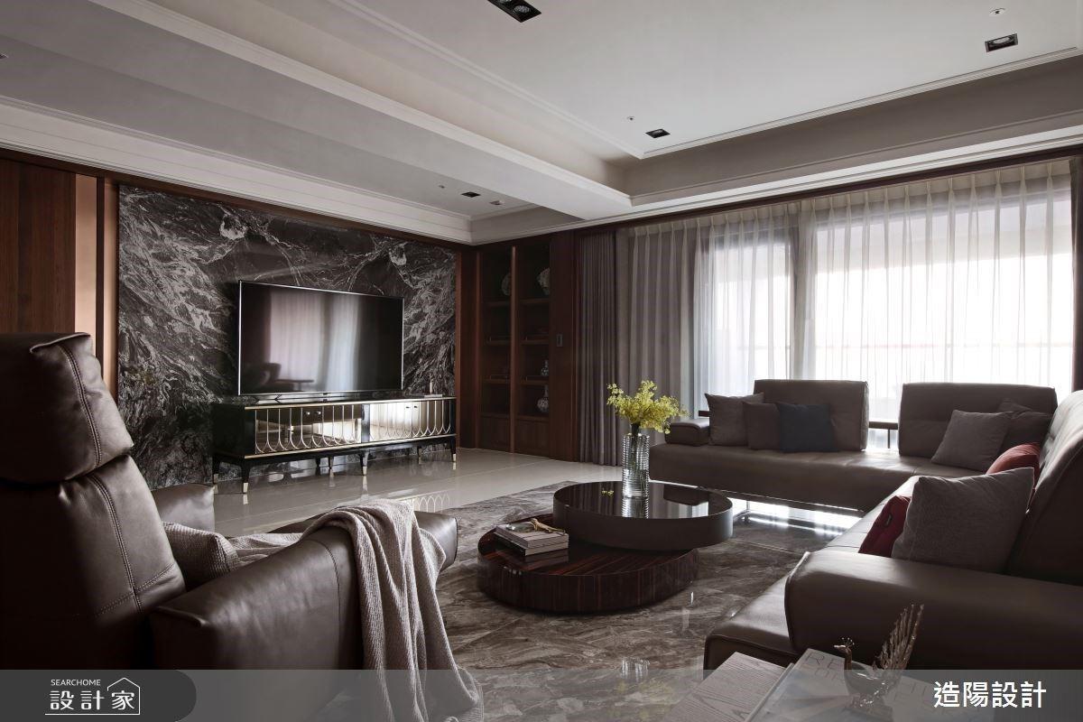 創造陽光的兩代退休宅!新中式風豪宅重整格局,接納滿城景觀