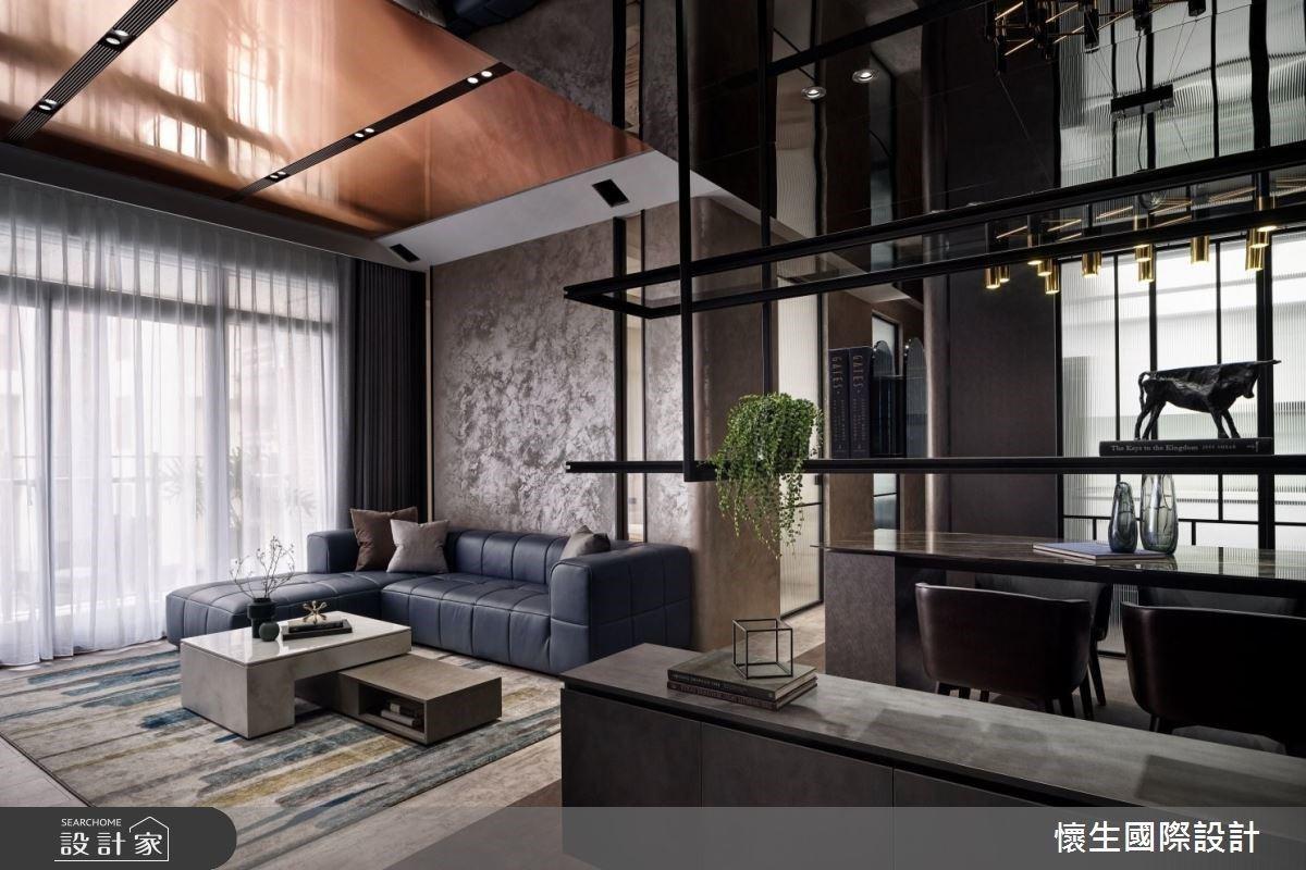 全面啟動顛倒世界真實呈現!鍍鈦金屬翻玩豪宅設計新高度