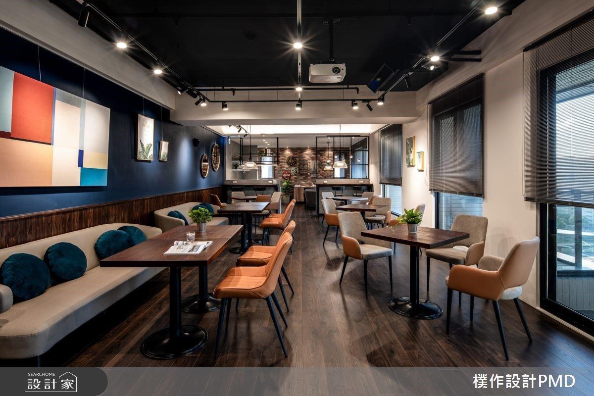 走吧,到樓上的文青咖啡廳!青銀共處、親友團聚的輕工業風空間