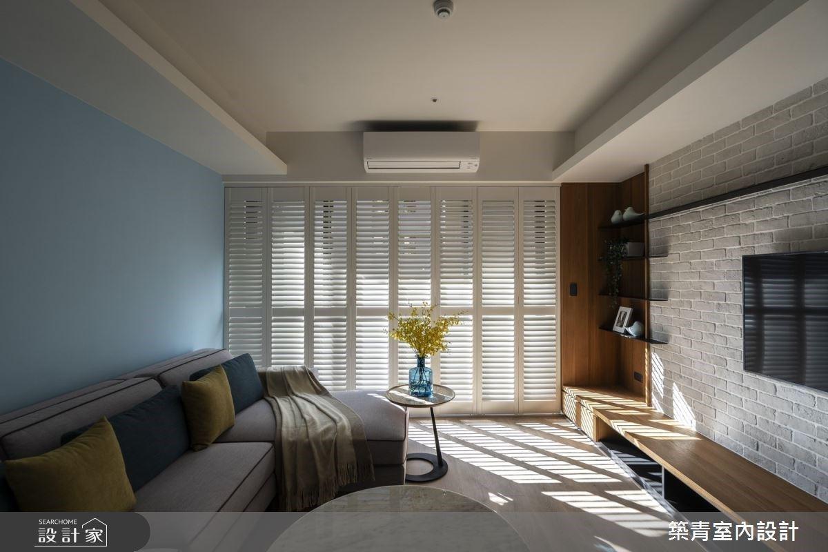 變形蟲櫃體是牆面也能收納!鄉村風住宅的輕巧風貌