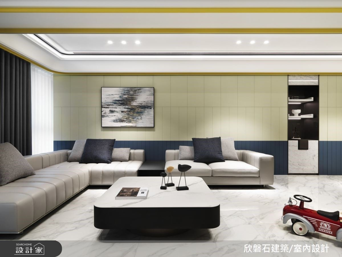 色彩線性美學 品味豪宅質感生活