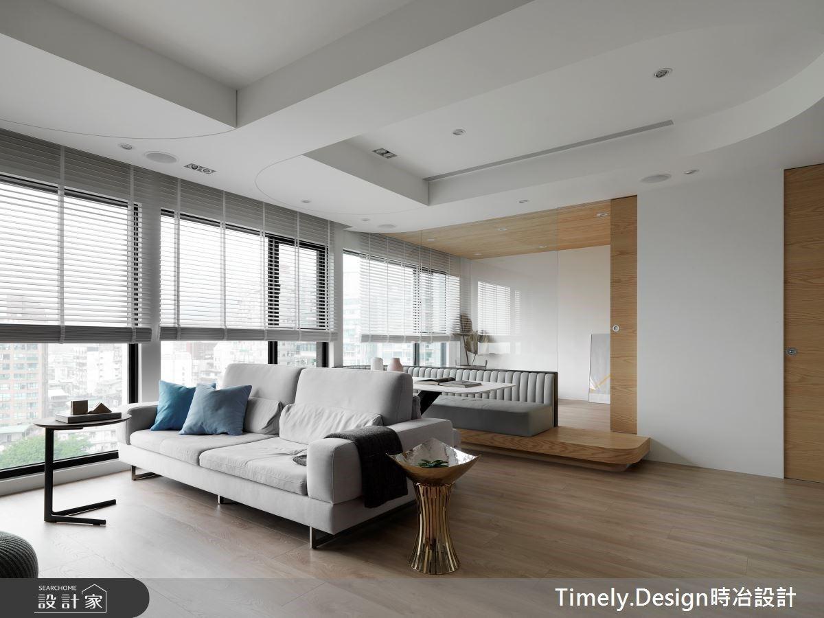 開闊空間感+溫泉景觀衛浴!24 坪打造甜蜜退休宅