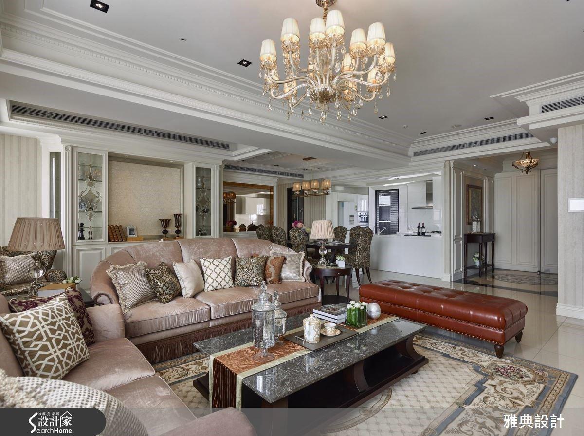 誠意滿分的生活美學!質感升級的新古典風大宅