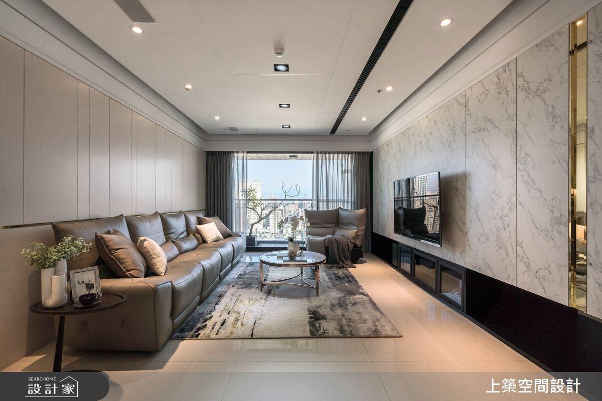 法式設計豐富收納美學,形塑現代住宅裡從容生活的優雅與大氣