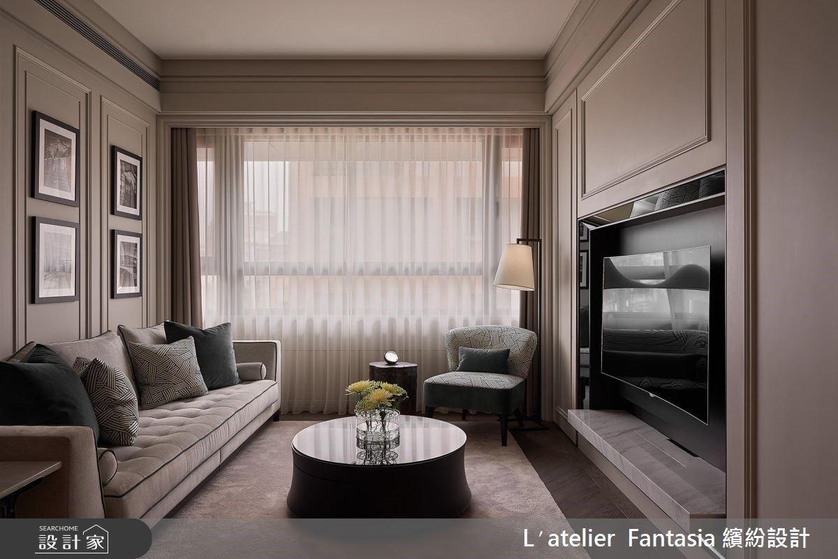享受,從浪漫吧台、衛浴時光開始!單身貴族的 17 坪優雅現代風居所