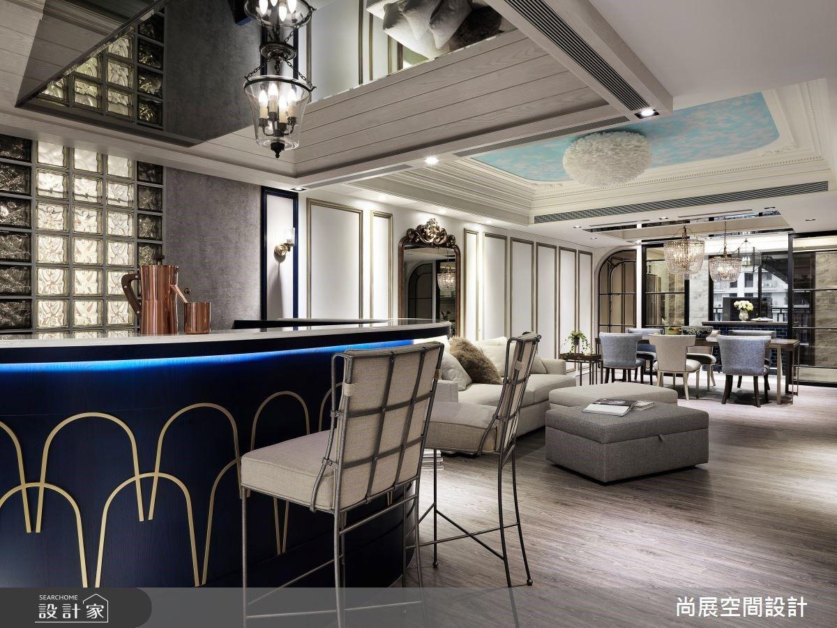 華麗交誼廳 X 貴族私人空間 烘托女性格調的新古典大宅