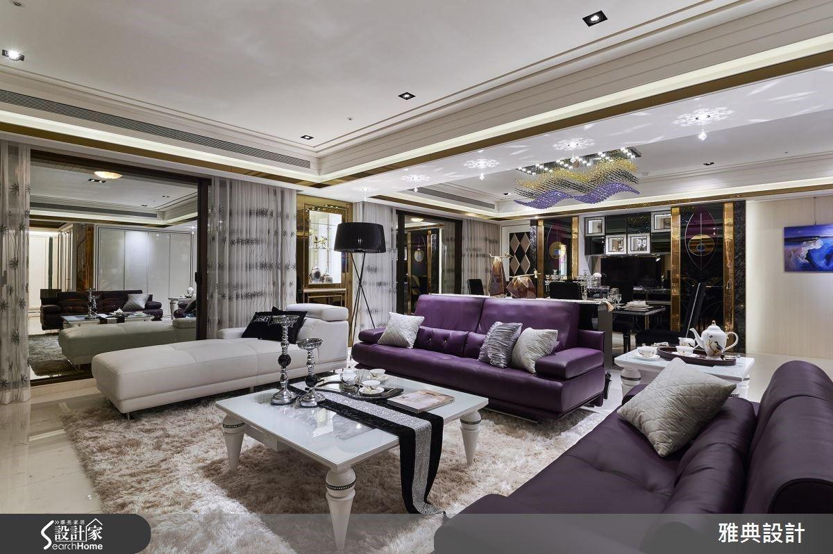 雅典精緻工藝形塑 80坪奢華豪邸美學