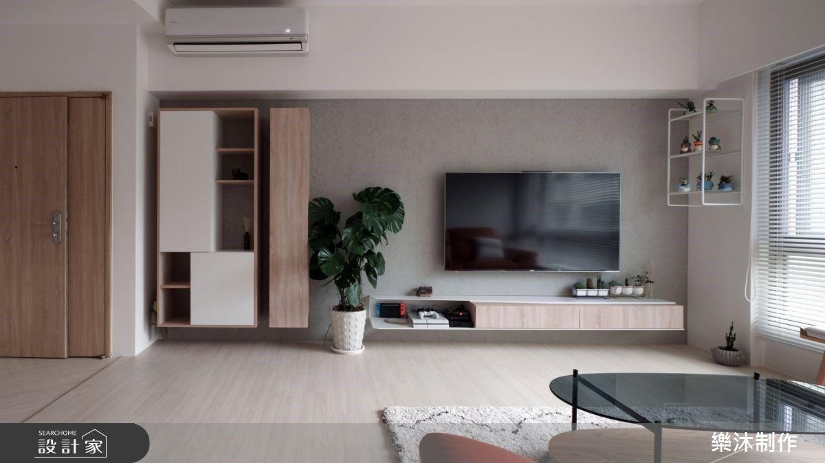 陽光與木質讓老屋重振活力!打造一家五口純淨北歐風私宅