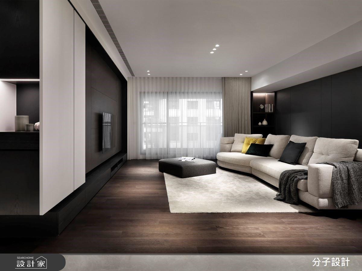 從毛胚屋開始「量身訂製」!58 坪沉穩內斂的簡約感 + 木質感住宅