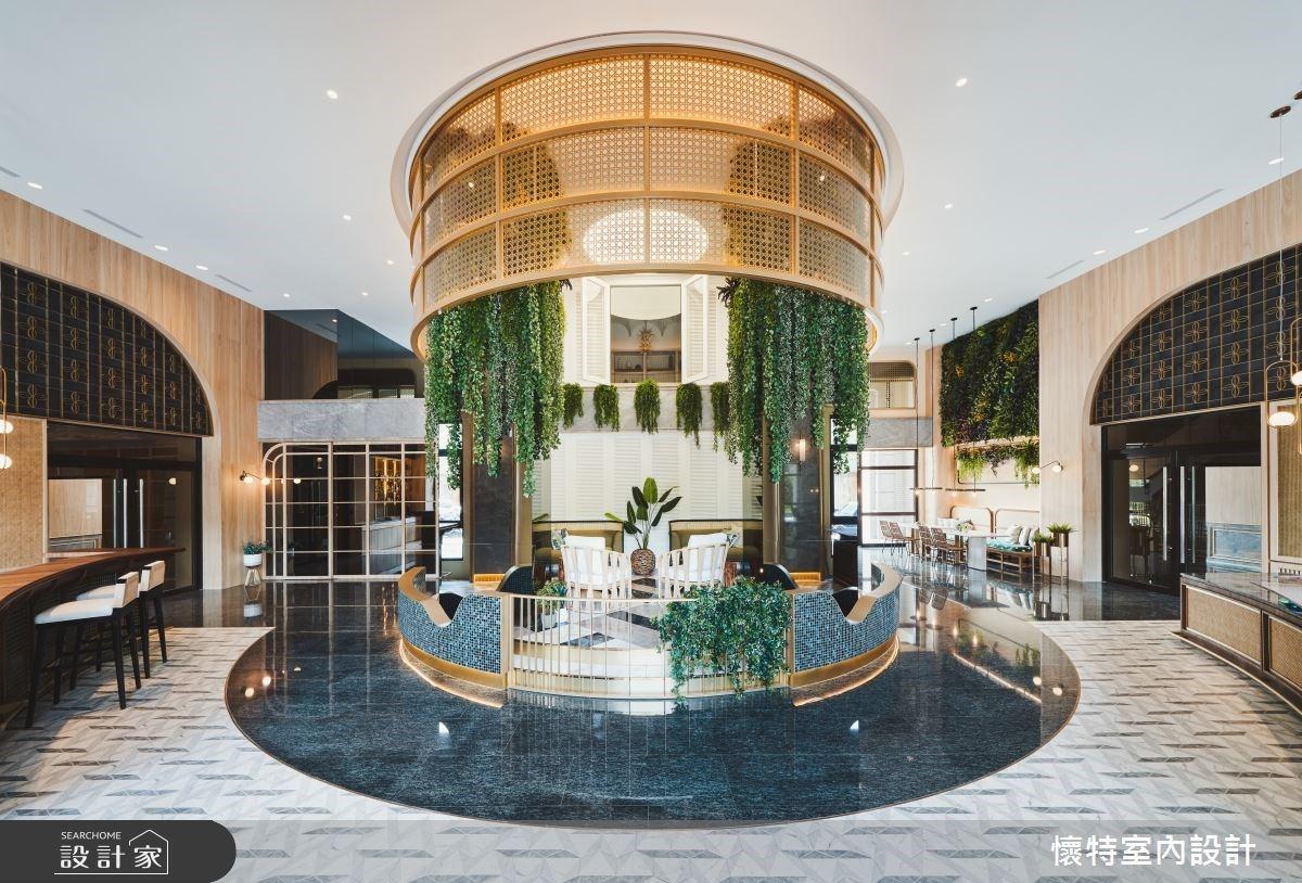 超美質感社區大廳!旅遊度假、熱帶叢林的想像總和
