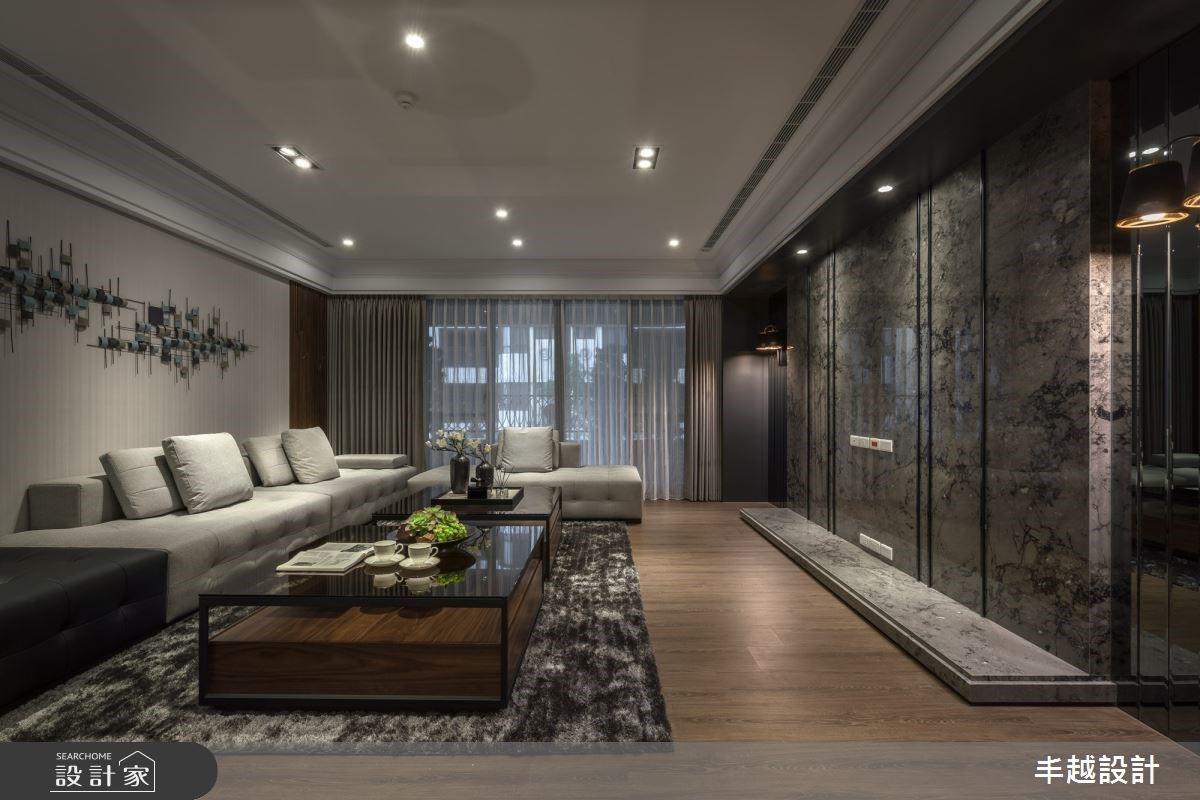 寵屋主的微醺設計!酒窖級收納牆、大理石吧台打造豪宅高質感品酩時光