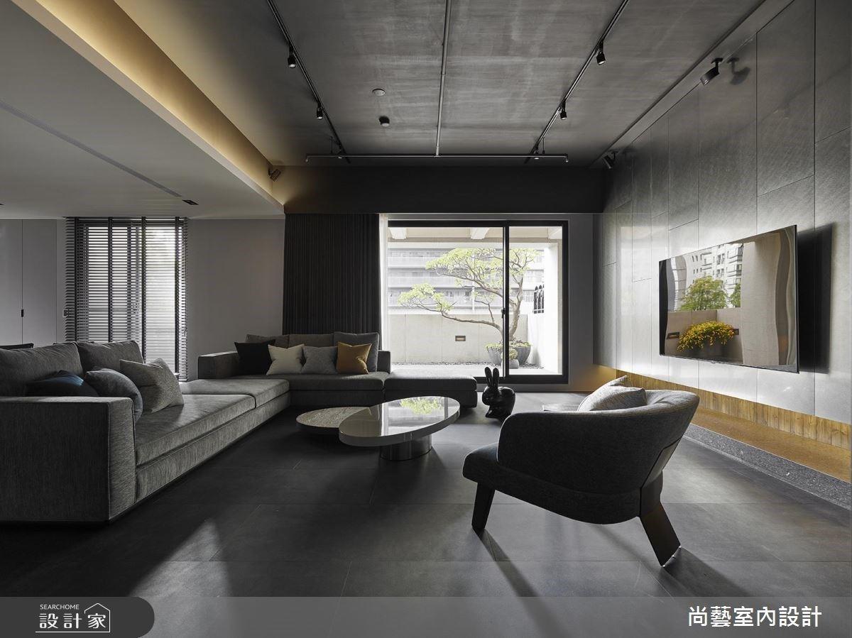 灰境冷石、雍容靜謐,沉穩詩意的 94 坪雋永質感豪宅