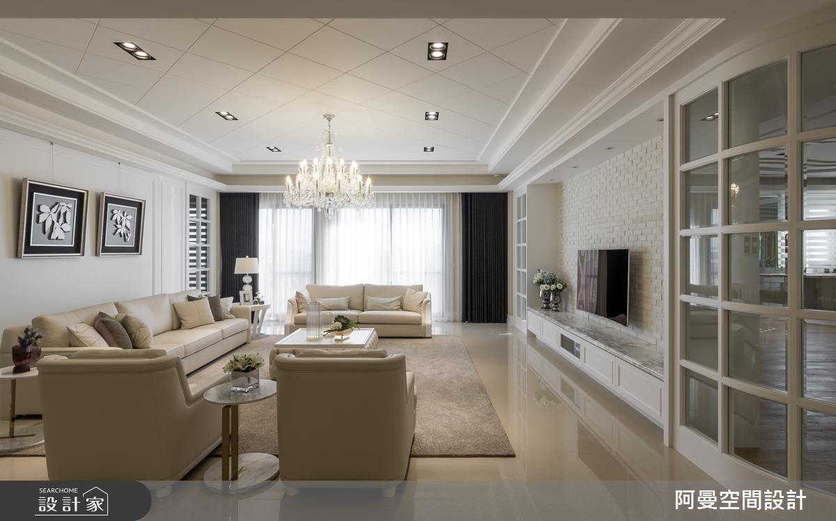 白色時尚細節X滿點收納 訂製優雅大器的美式鄉村宅!