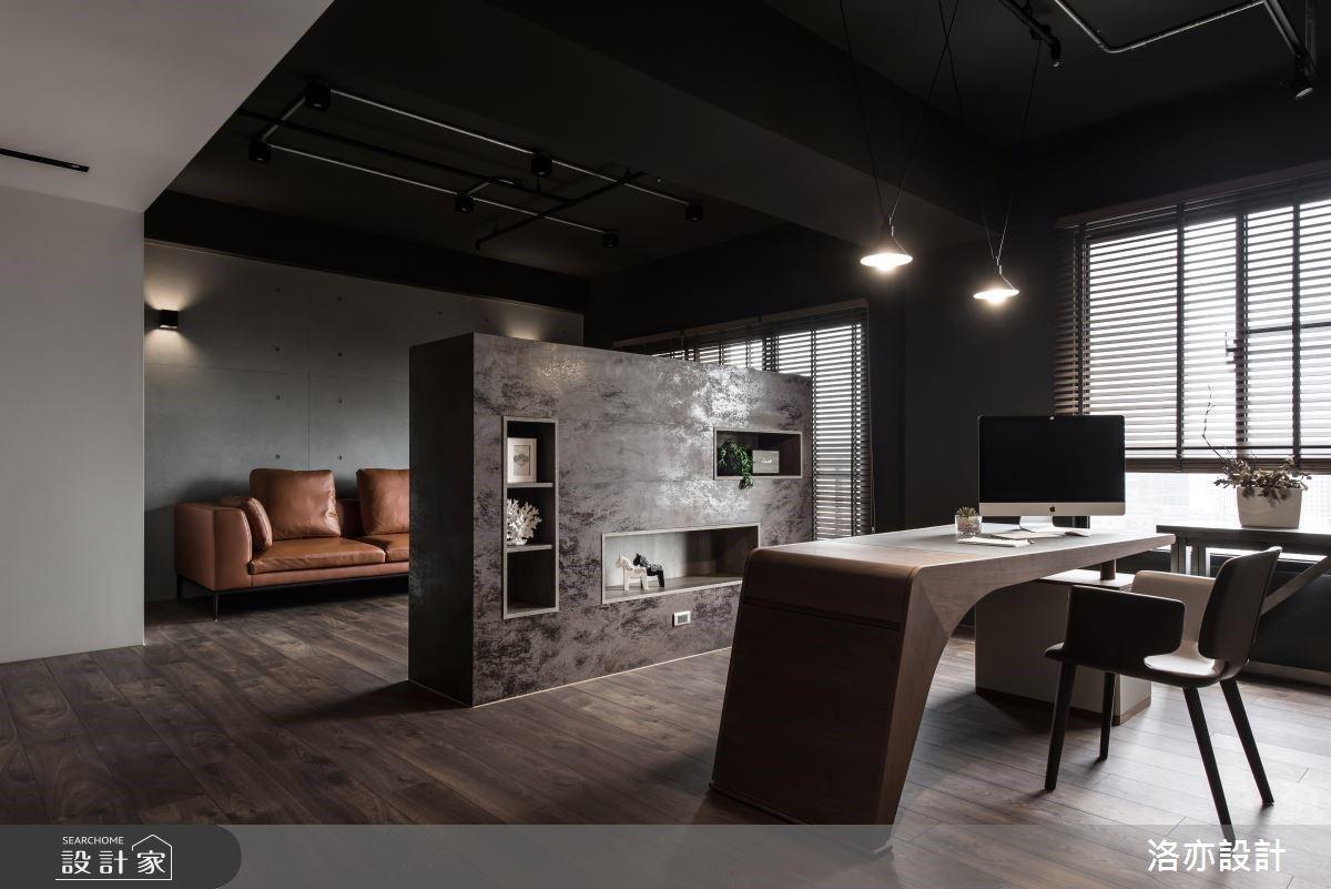 建材X軟件 2人的經典35坪質感工業風個性宅