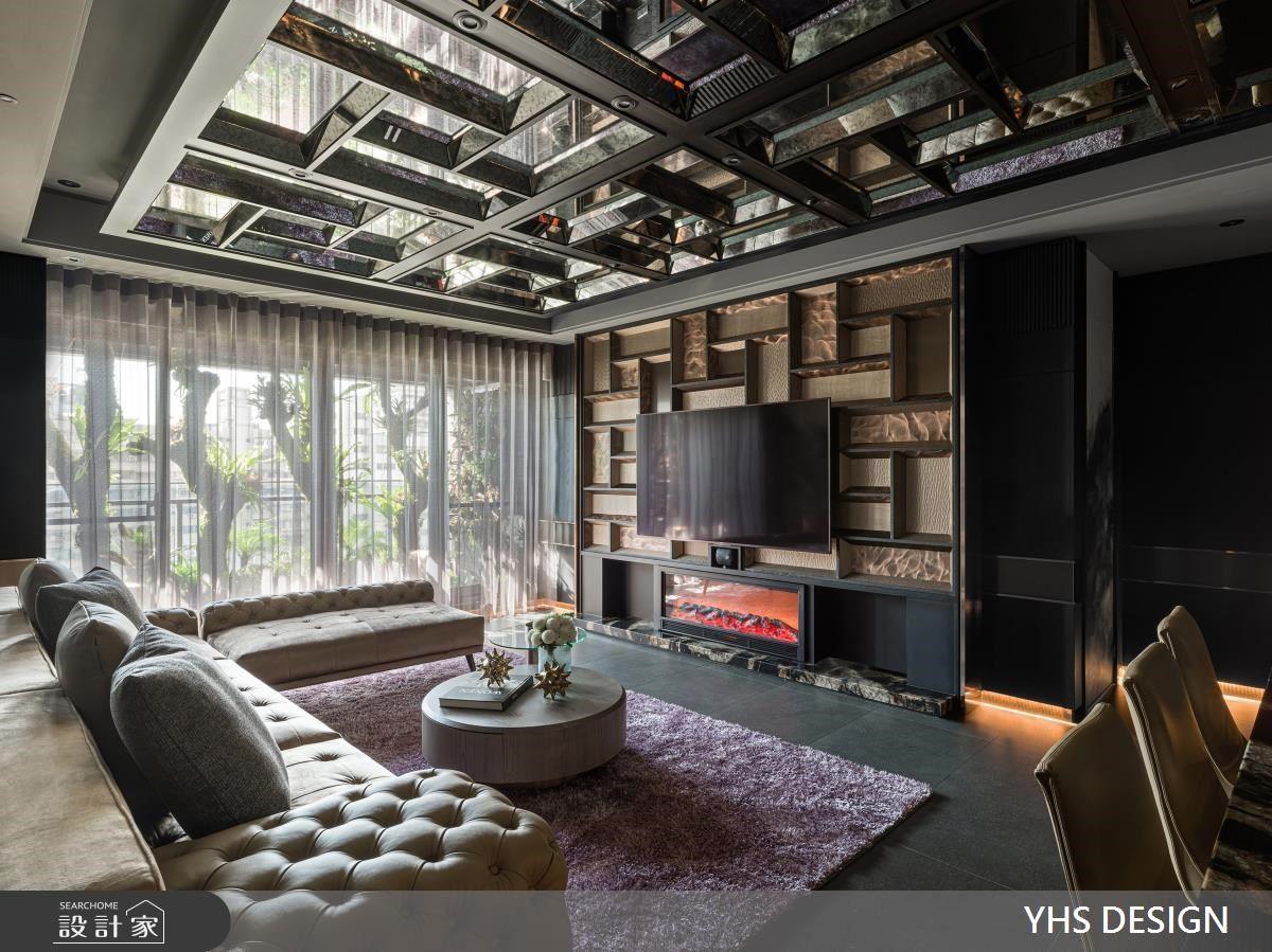 鏡像天花下的極緻奢華!32 坪坐擁超越大宅的浮誇視覺饗宴