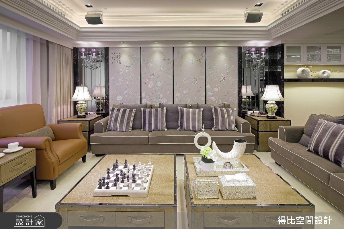 東方畫屏與西方線板的相會!新古典微豪宅掌握精準風水與空間坪效