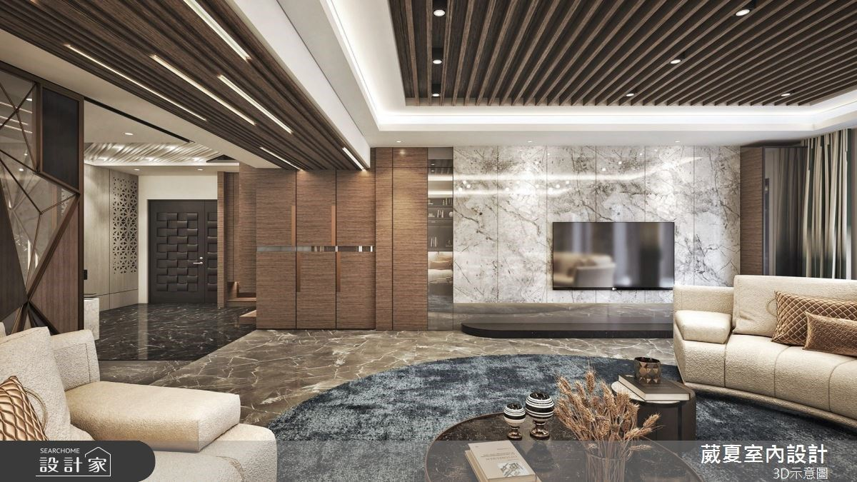 尊榮呈現、盡顯品味!高級建材打造飯店風百坪大宅