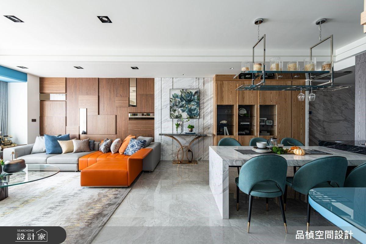 揉合異材質堆疊與海量收納 描繪動人的層次美學現代宅