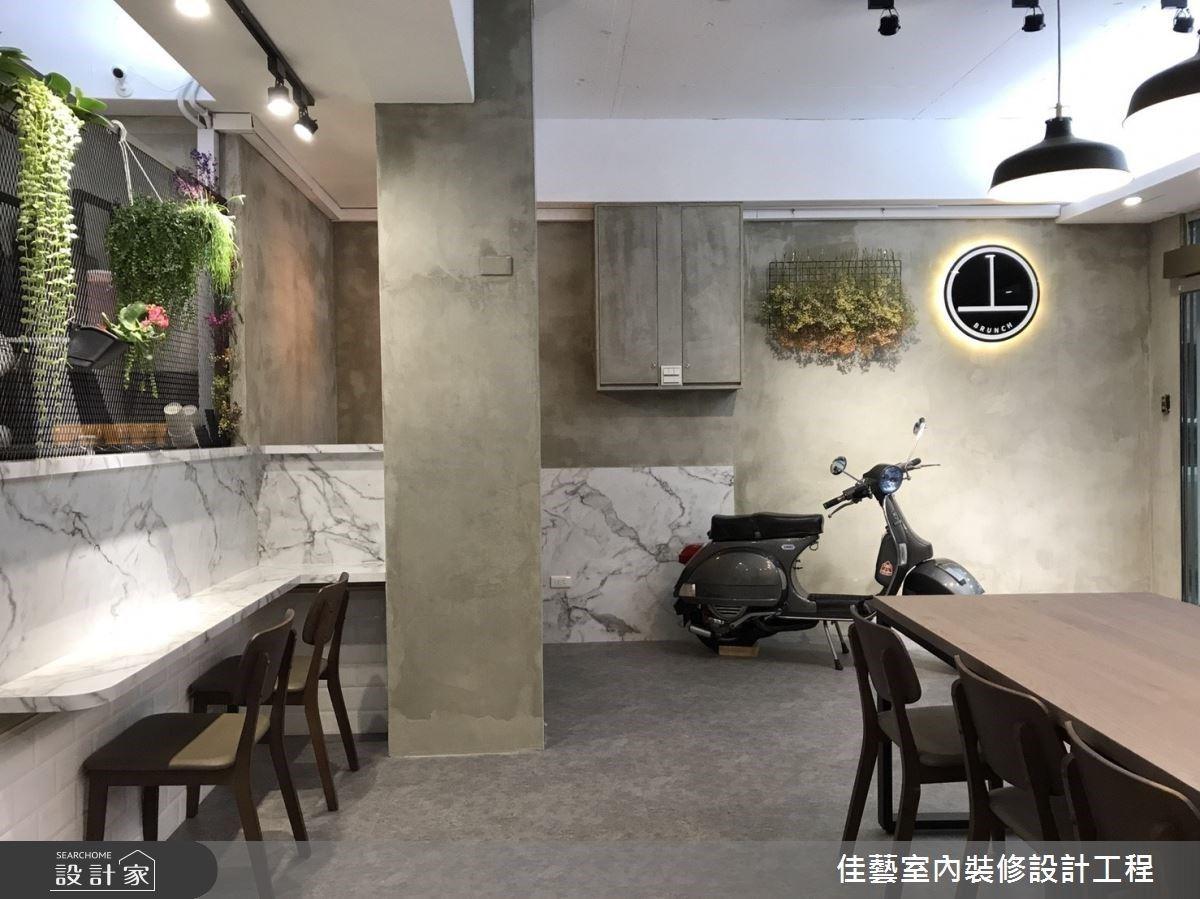 IG 網美最愛的早午餐店!善用乾燥花、白大理石牆和樂土,小預算也能輕鬆打造文青工業風