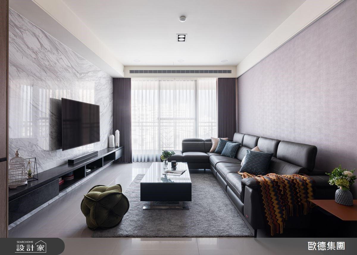 每一面牆都用心琢磨!系統傢俱與鍍鈦混搭的輕奢質感宅