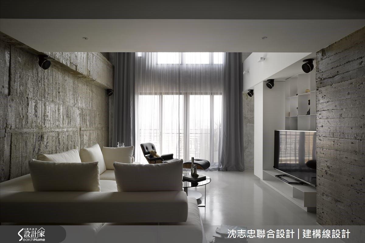 跳脫格局框架的自然感生活!攬景入懷的現代風複層豪宅