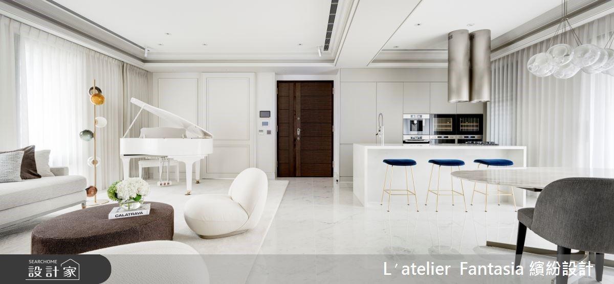 純淨浪漫新古典小豪宅!中島廚房、夢幻衛浴實現頂級生活享受