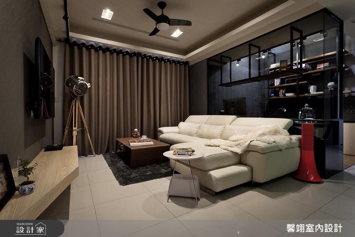 高機能廚房、專業感更衣室,為生活帶來新意的 23 坪時尚混搭宅
