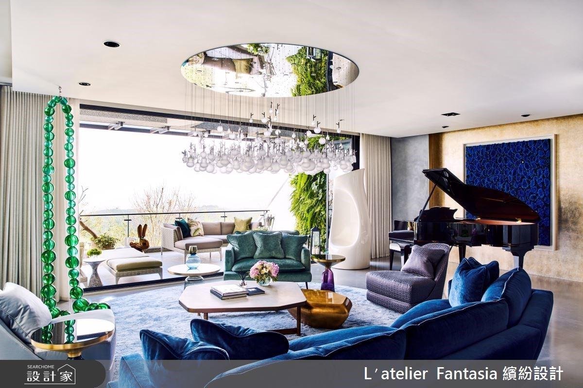 穠麗家飾、藝術與綠意景觀的共生美學!百坪豪宅盡顯奢華新古典的渡假風情