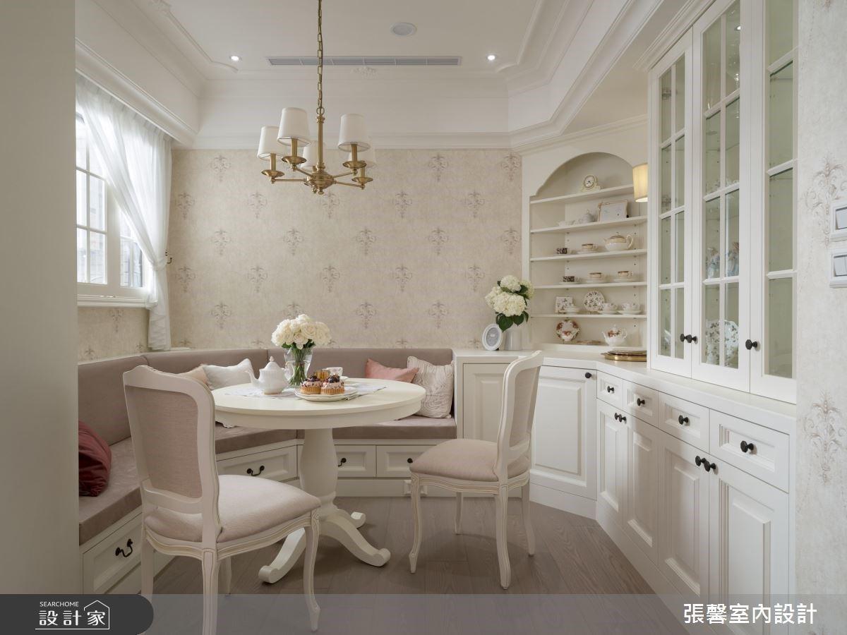 少了客廳住得更自在!傾注異國優雅質感,為兄妹倆訂製 22.7 坪高級歐美宅