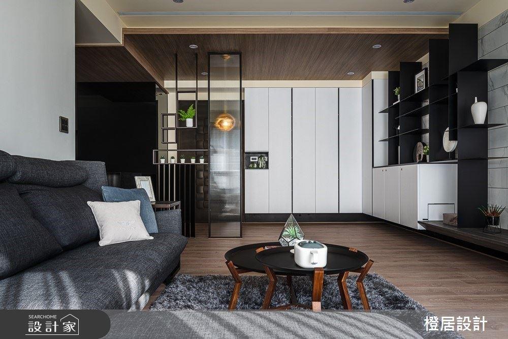 33 坪質感退休宅,天然石紋、暖木灰階的現代時尚氛圍