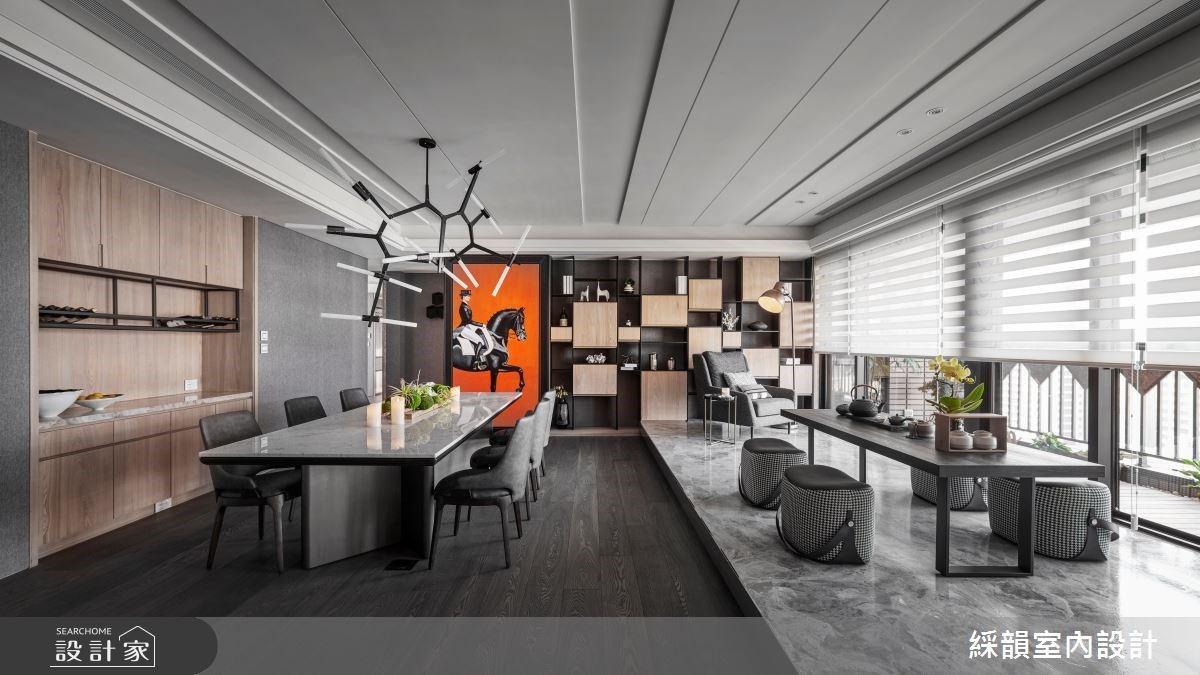 揉合細緻材質與藝術神韻 特調舒心時尚的現代豪邸