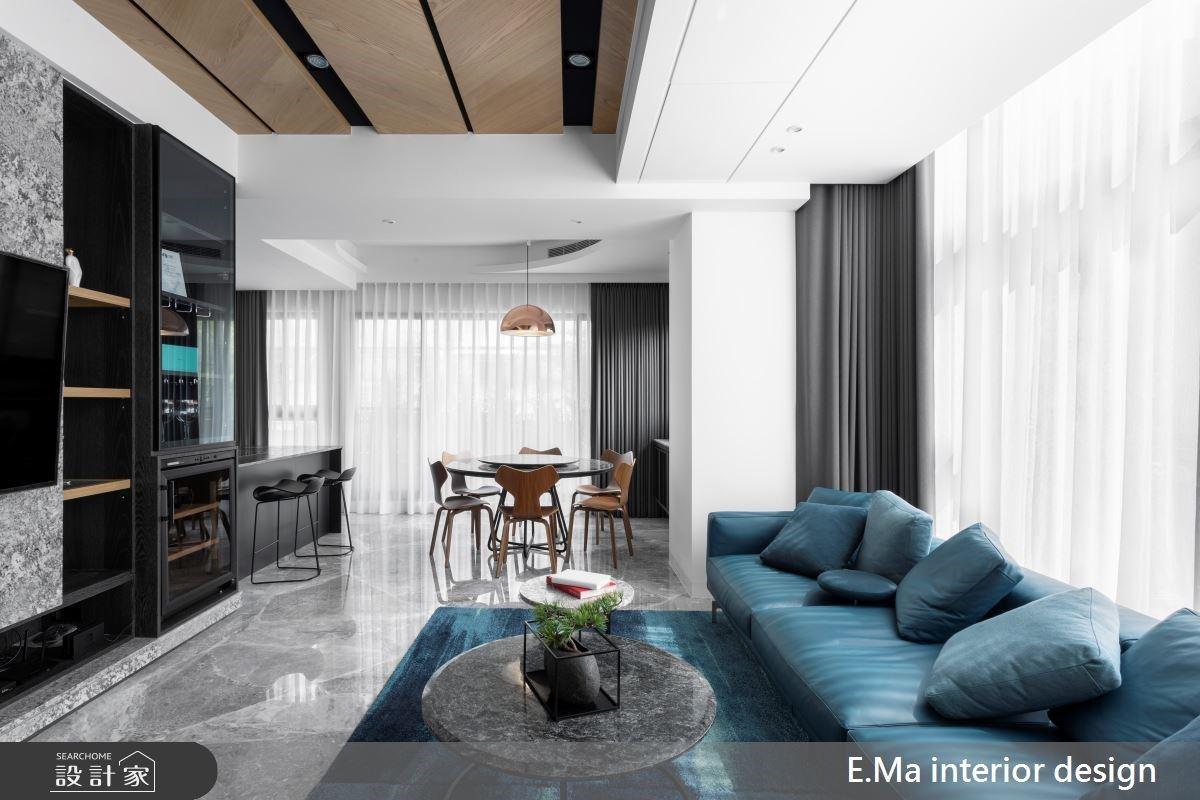 多功能石材電視牆、5 間全能臥室高規格訂製!豪華現代風別墅滿足全家人心願