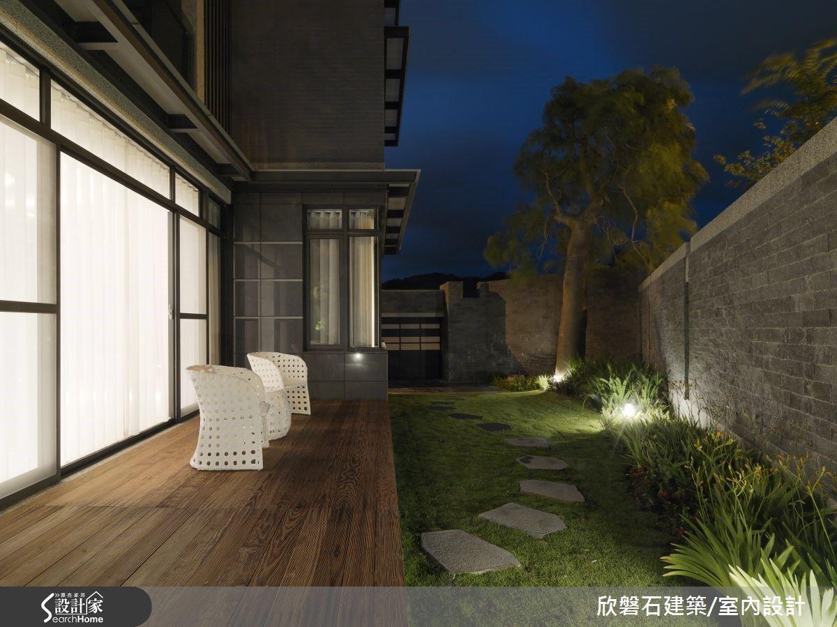 現代風度假別墅理的閒適光景!庭院放鬆、泡澡時光給屋主滿分的退休生活