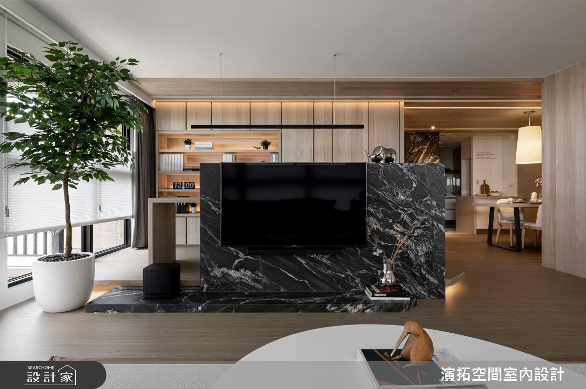 空間通透自在與機能全備 打造一家三口雅緻溫潤舒心宅