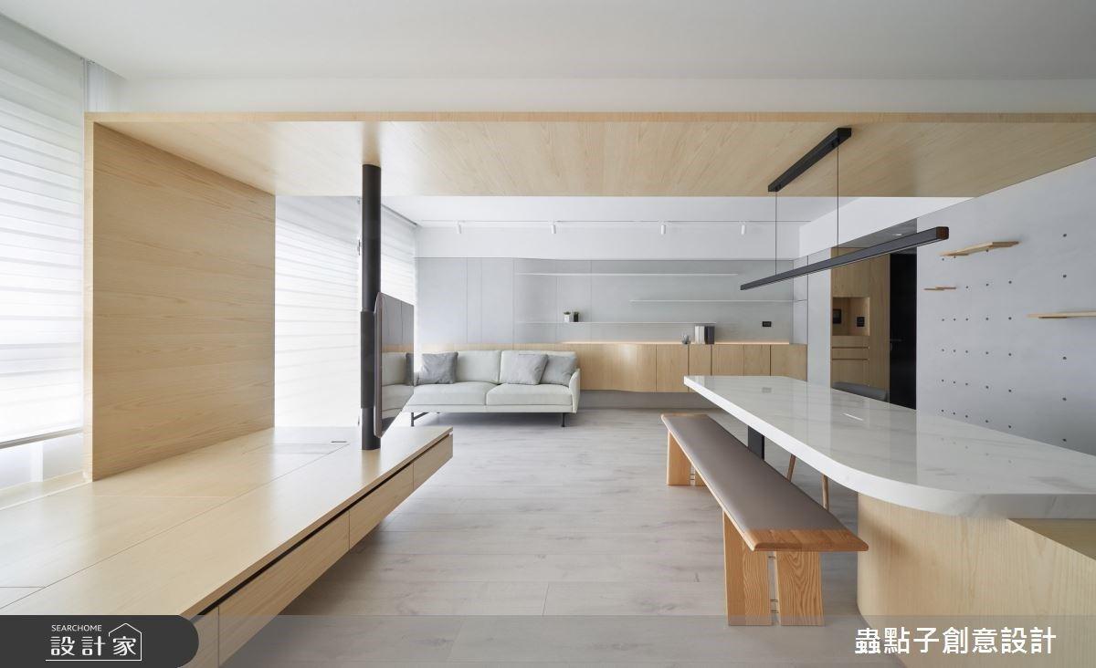 輕設計、更耐看!讓心靈深呼吸的 24 坪簡約風居家