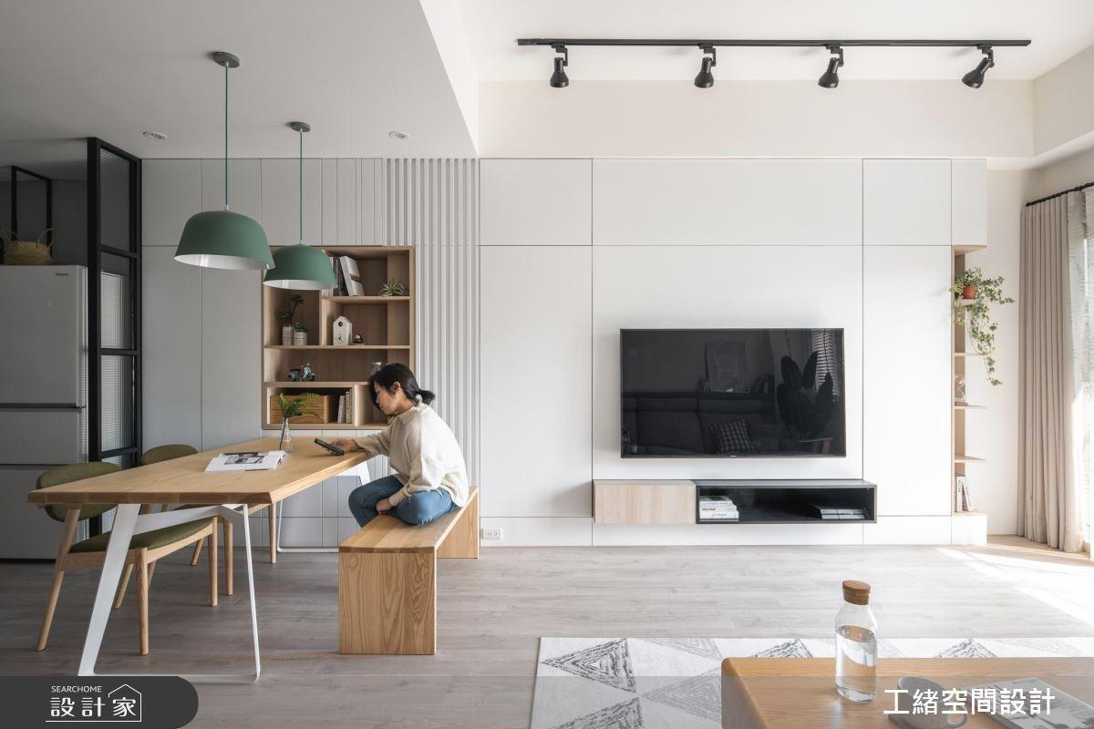 日式收納哲學加入輕北歐設計!井然有序 20 坪居宅滿足屋主整理嗜好