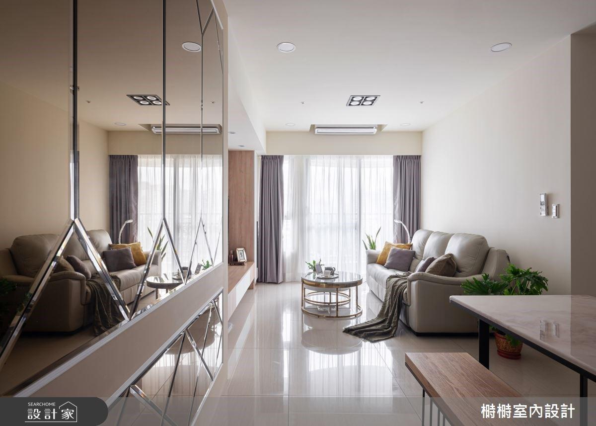 實現風格迥異的三代願望!北歐風打底、新古典提亮的超坪效美宅