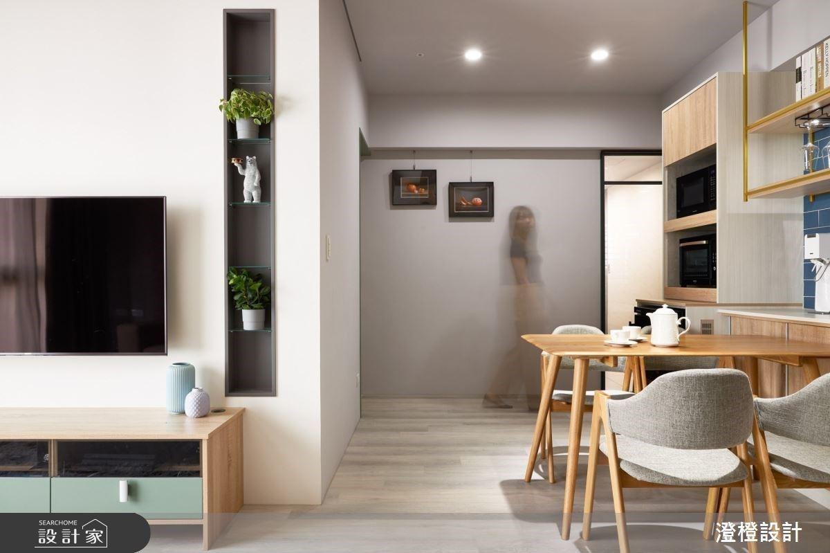 翻新中古屋風貌!溫潤木頭與風格展示櫃混搭熱門工程師的家