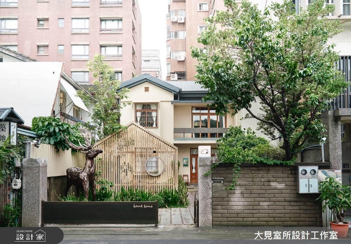 台中日式老洋房的浪漫敦厚!「home home」網美必訪的木質綠意早午餐店