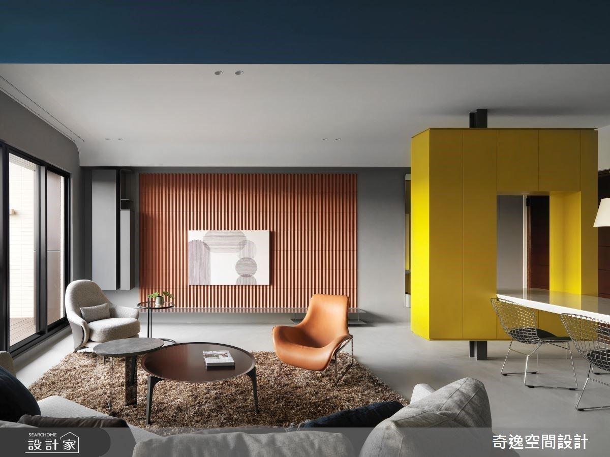 訂製收納設計形塑理想生活脈絡!39 坪現代風新成屋展現陽光活力