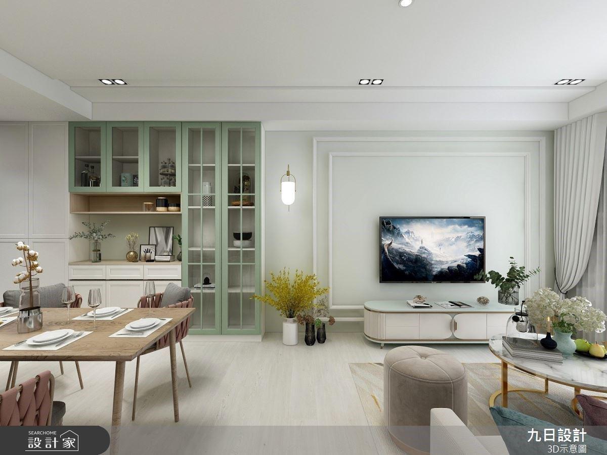 走進雜誌款美式家屋!莫蘭迪綠X滿滿展示櫃X時尚更衣室,最優雅夢幻花園派對登場