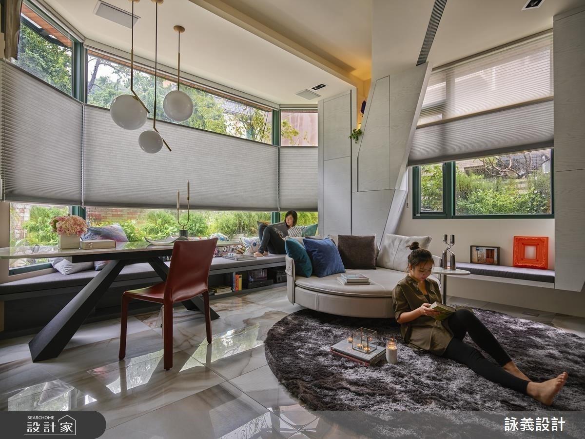 讓想像力掌權!解構空間用陽光、綠意與色彩建構現代版的愛麗絲夢遊仙境