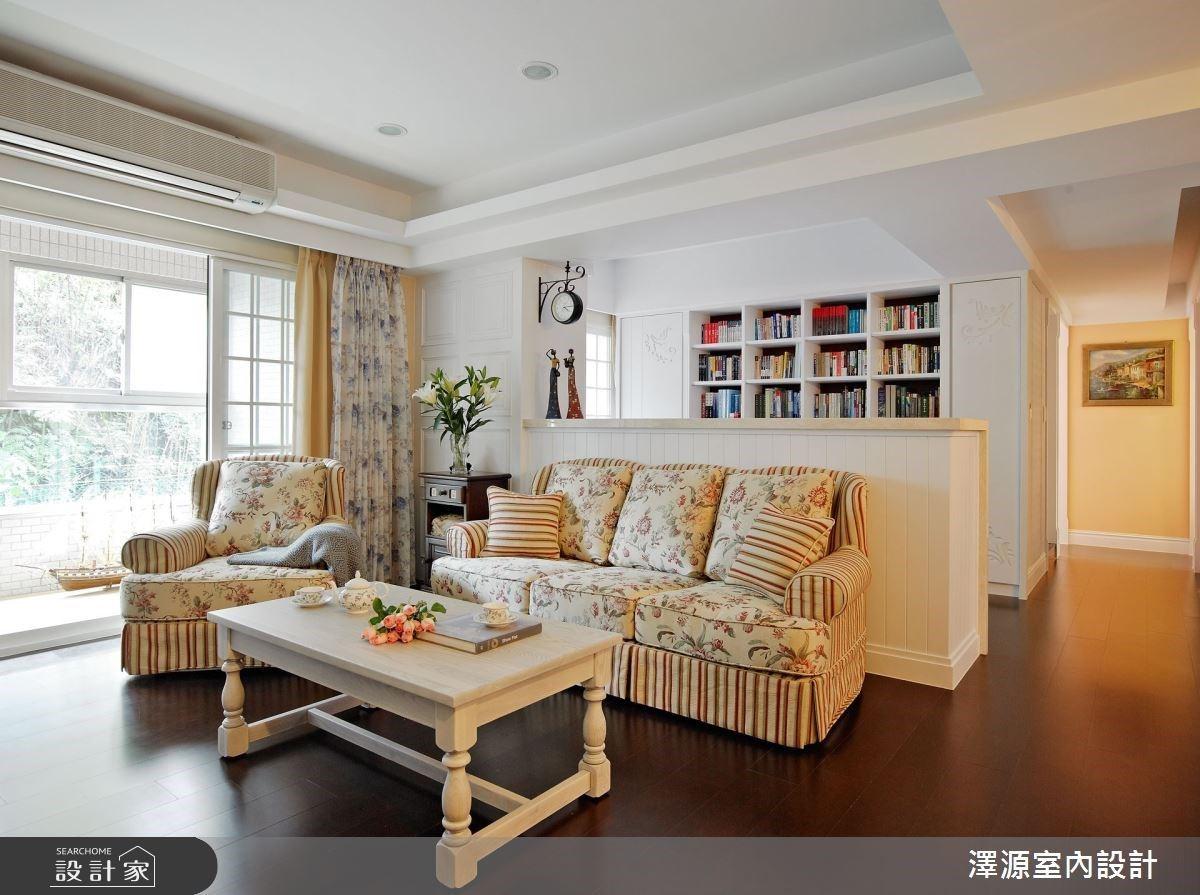舊家具融入新設計!35 坪新居百萬預算實現美式鄉村格裝潢
