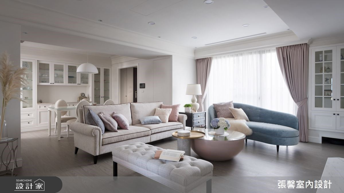 輕柔新古典美學提案!構築你的優雅品味居所