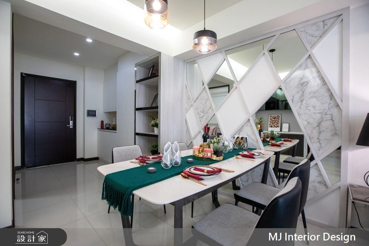 低預算X高質感!善用幾何分割術,迎接優雅而流暢的28坪現代風時尚宅