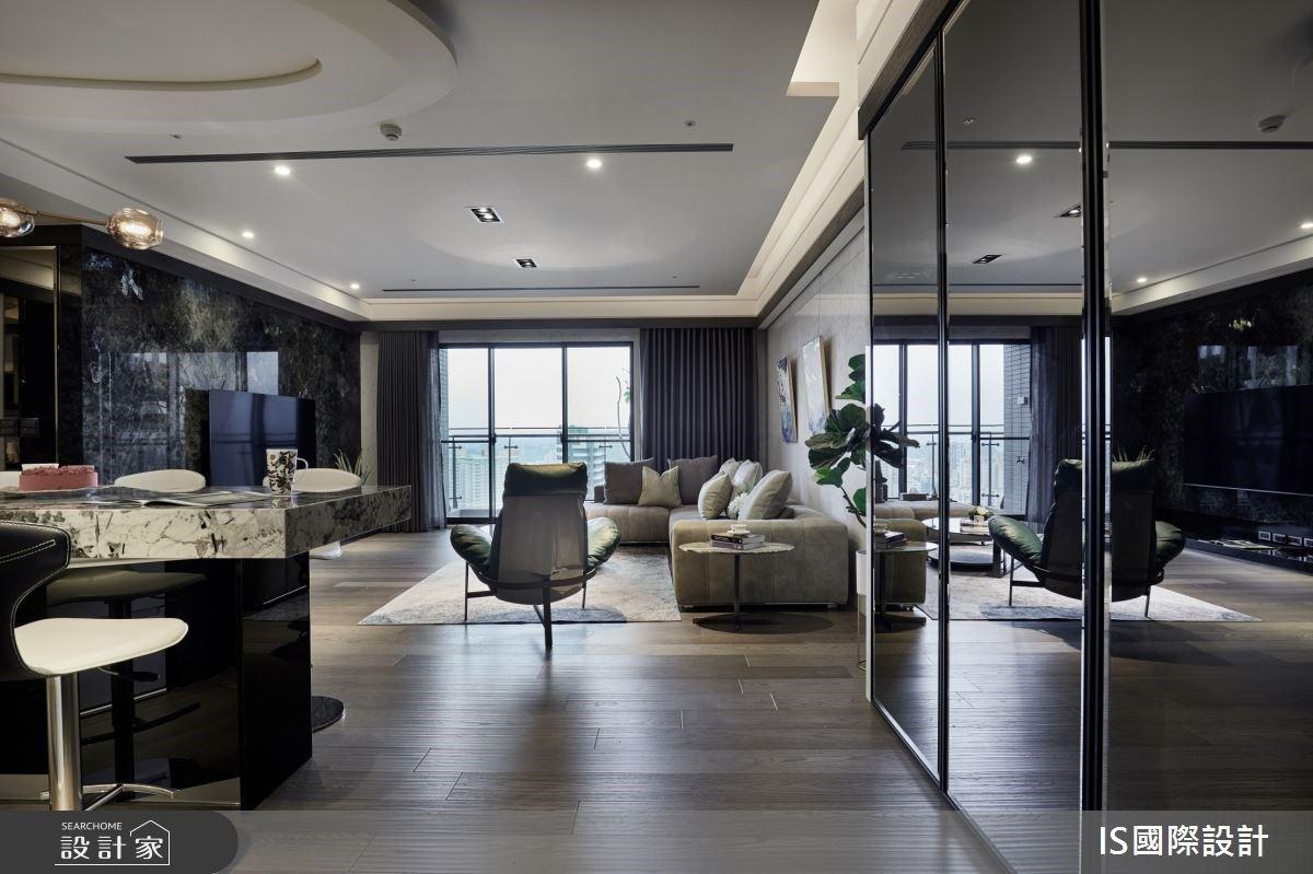 40坪格局也能有豪宅氣勢?河岸景觀環抱下,享受五星級飯店般的精緻質感