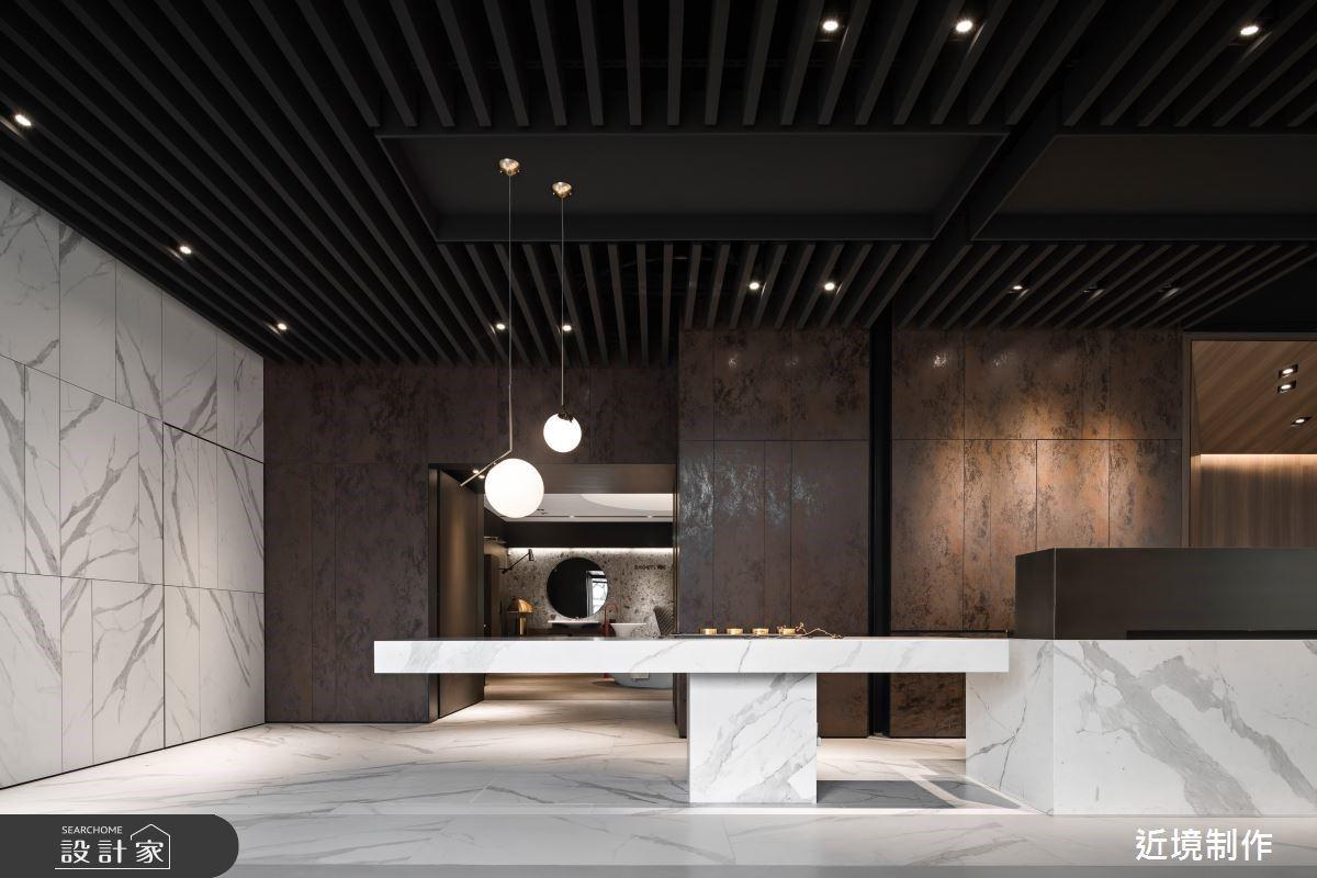 窺探建築中的建築 衝擊五官的衛浴商業空間