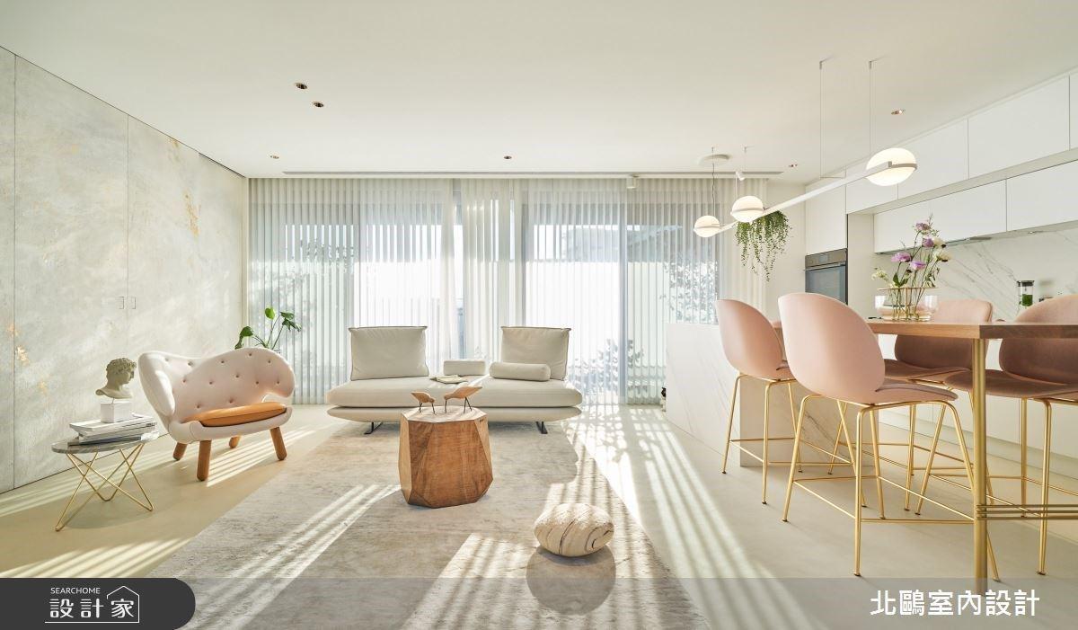 開箱小家庭的夢幻居家!空中庭園+絕美玻璃屋,被綠意圍繞的粉嫩系北歐宅
