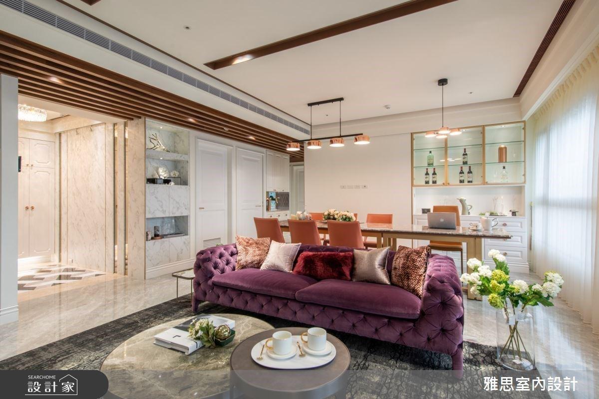 揭開美式豪宅的時尚視野!「愛馬仕橘+慵懶輕紫」帶給你 VIP 般的精品質感